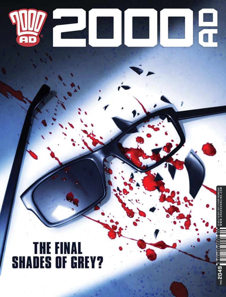 2000AD Prog 2049 - Cover