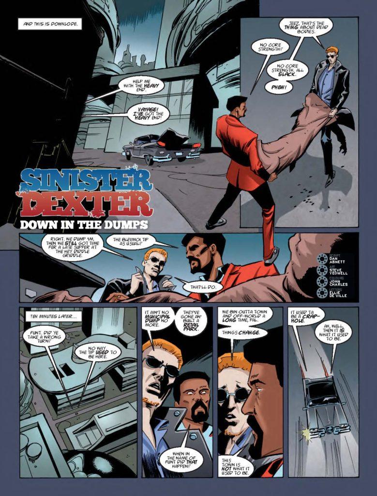 2000AD Prog 2050 - Sinister Dexter - Down in the Dumps (Part 1)