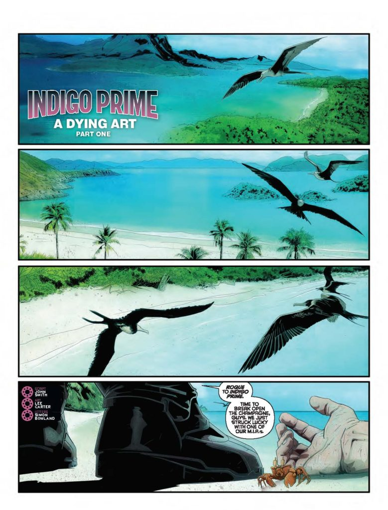 2000AD {rog 2050 - Indigo Prime - A Dying Art (Part 1)