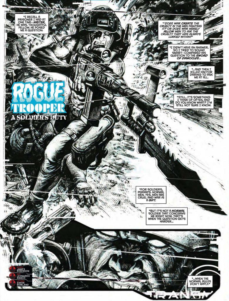 2000AD Prog 2050 - Rogue Trooper - A Soldier's Duty
