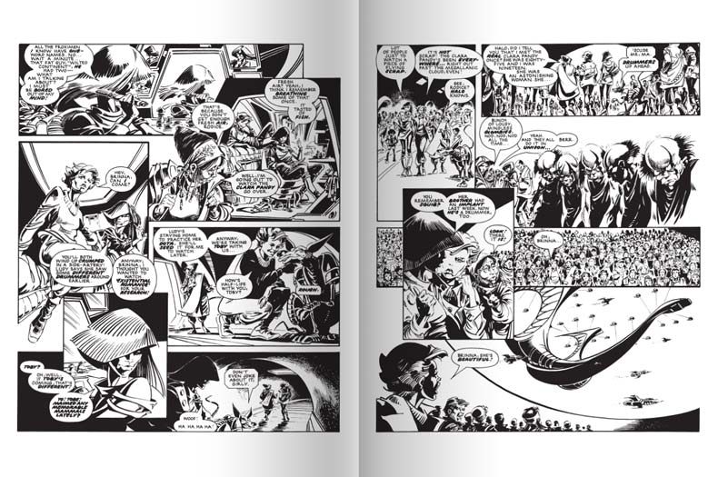 2000AD The Ultimate Collection Issue 2 - Sample 4