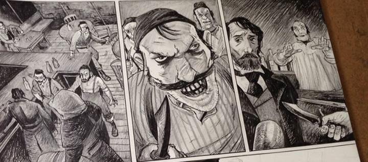Frankenstein, Texas Art SNIP