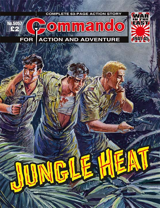 Commando 5057: Action and Adventure: Jungle Heat