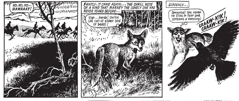 Marney the Fox - Sample Art