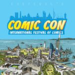 Copyrighted artwork for the Portsmouth Comic Con International Festival of Comics has been illustrated by Spike Zephaniah