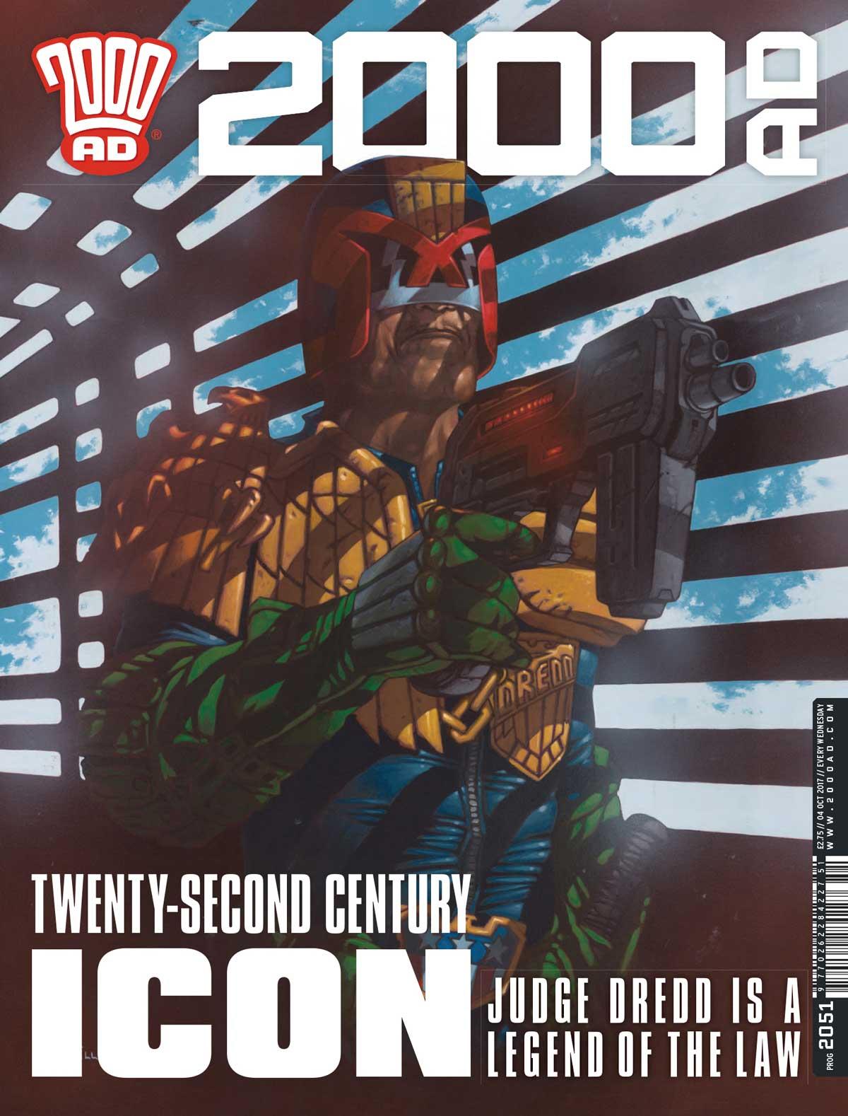 2000AD Prog 2051 - Cover-W