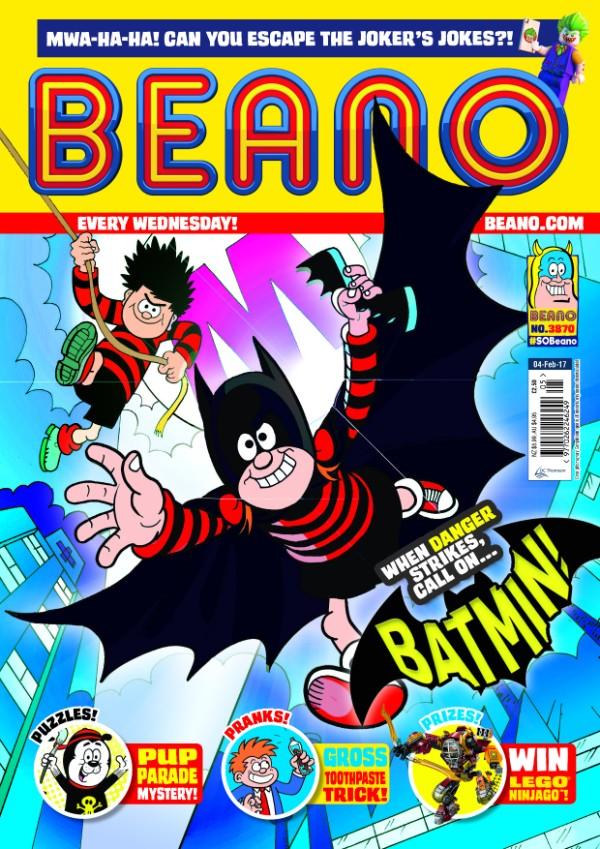 Beano-Batman - Februyary 2017