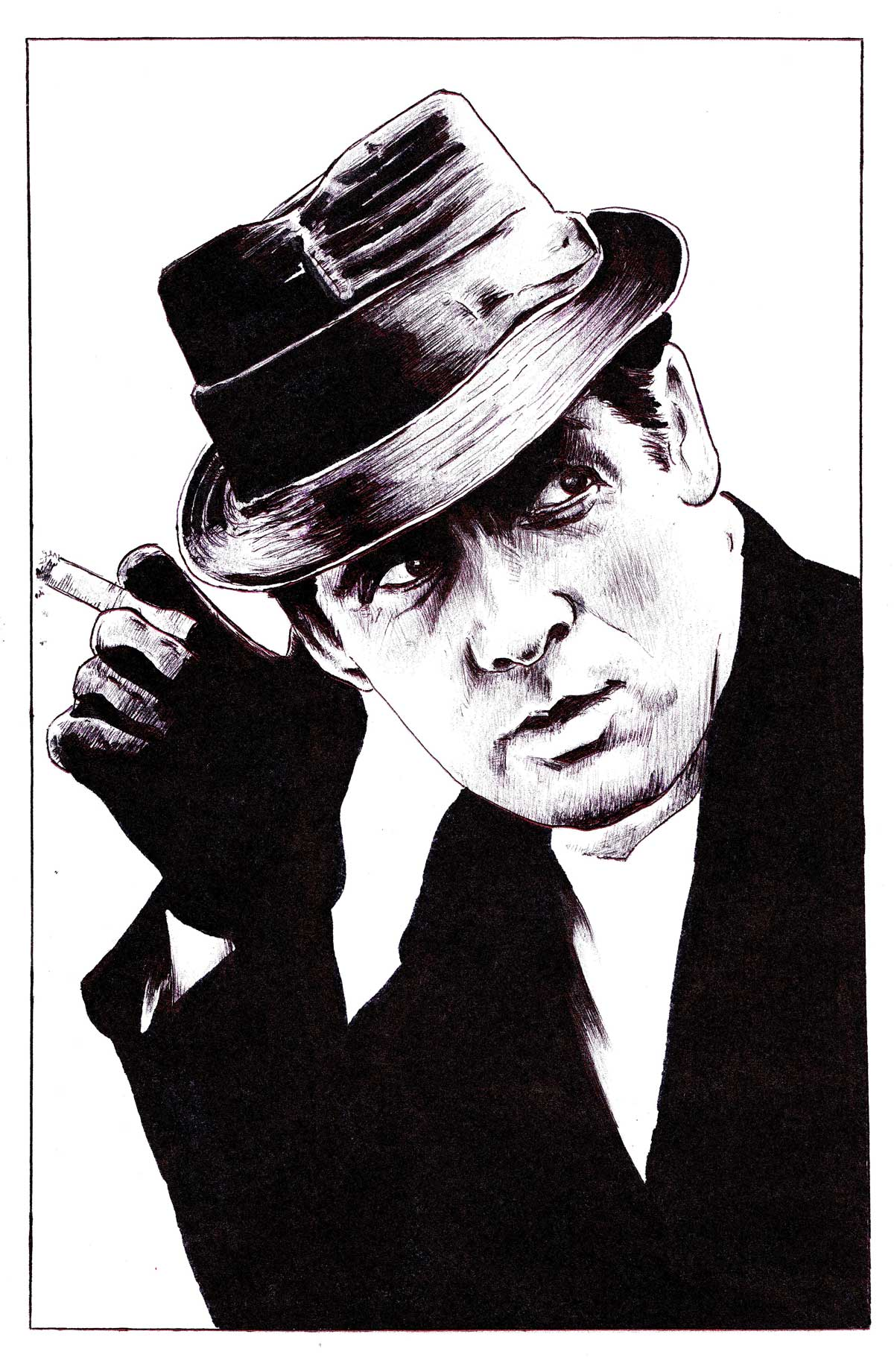 Danger Man art by Brian Gorman