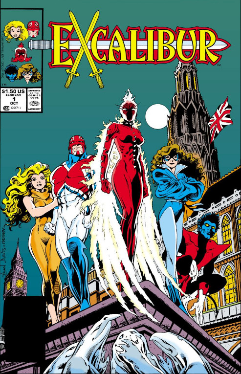 Excalibur #1 Cover - 1988