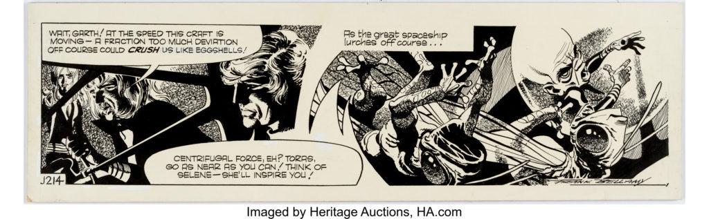 Frank Bellamy Garth Daily Comic Strip J214