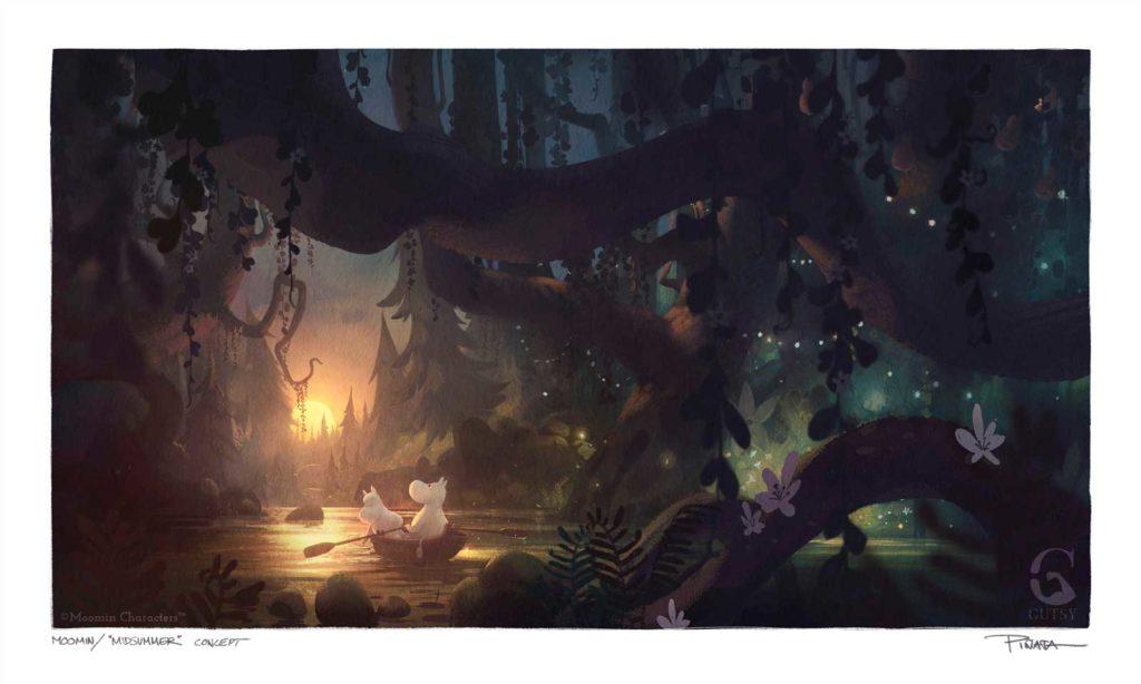 MoominValley Concept Art - Midsummer © Moomin Characters