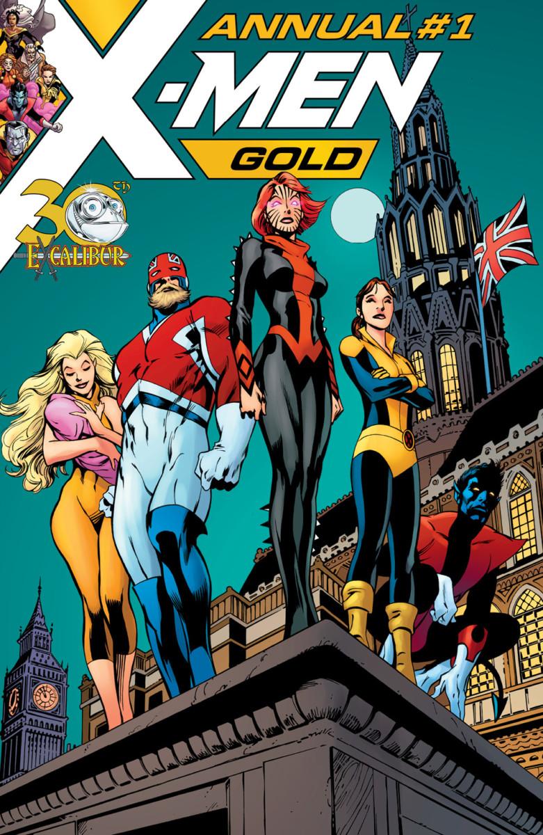X-Men Gold Annual #1 2018
