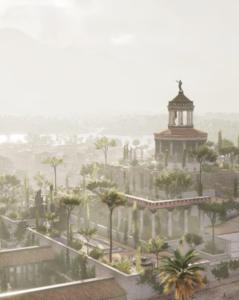 Assassins Creed Origins Scene by @tschang