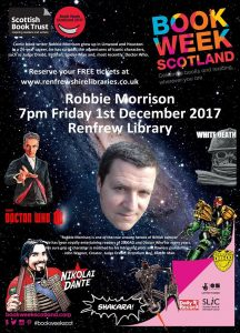Book Week Scotland 2017 - Robbie Morrision