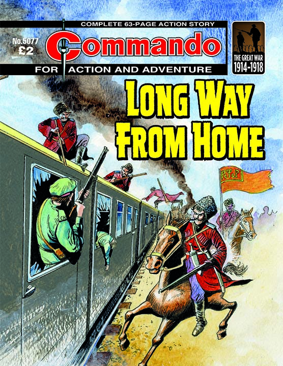 Commando 5077: Action and Adventure: Long Way from Home