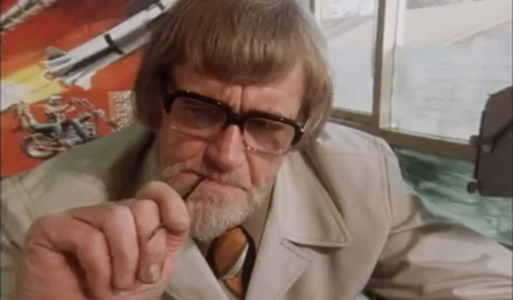 Frank Hampson - 28th November 1975