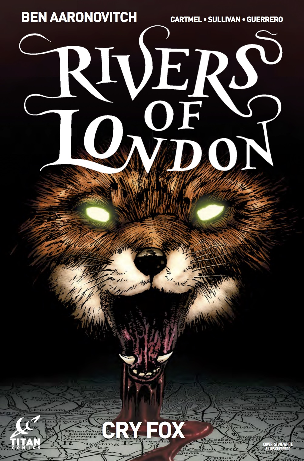 Rivers of London - Cry Fox #1 - Cover A by Steve White