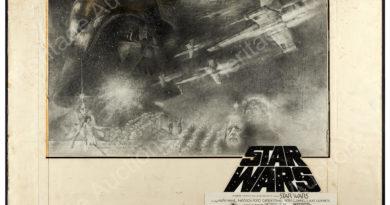 "Star Wars (20th Century Fox, 1977). Tom Jung Half Sheet Concept Artwork (30"" X 24"") and Half Sheet (22"" X 28"")"