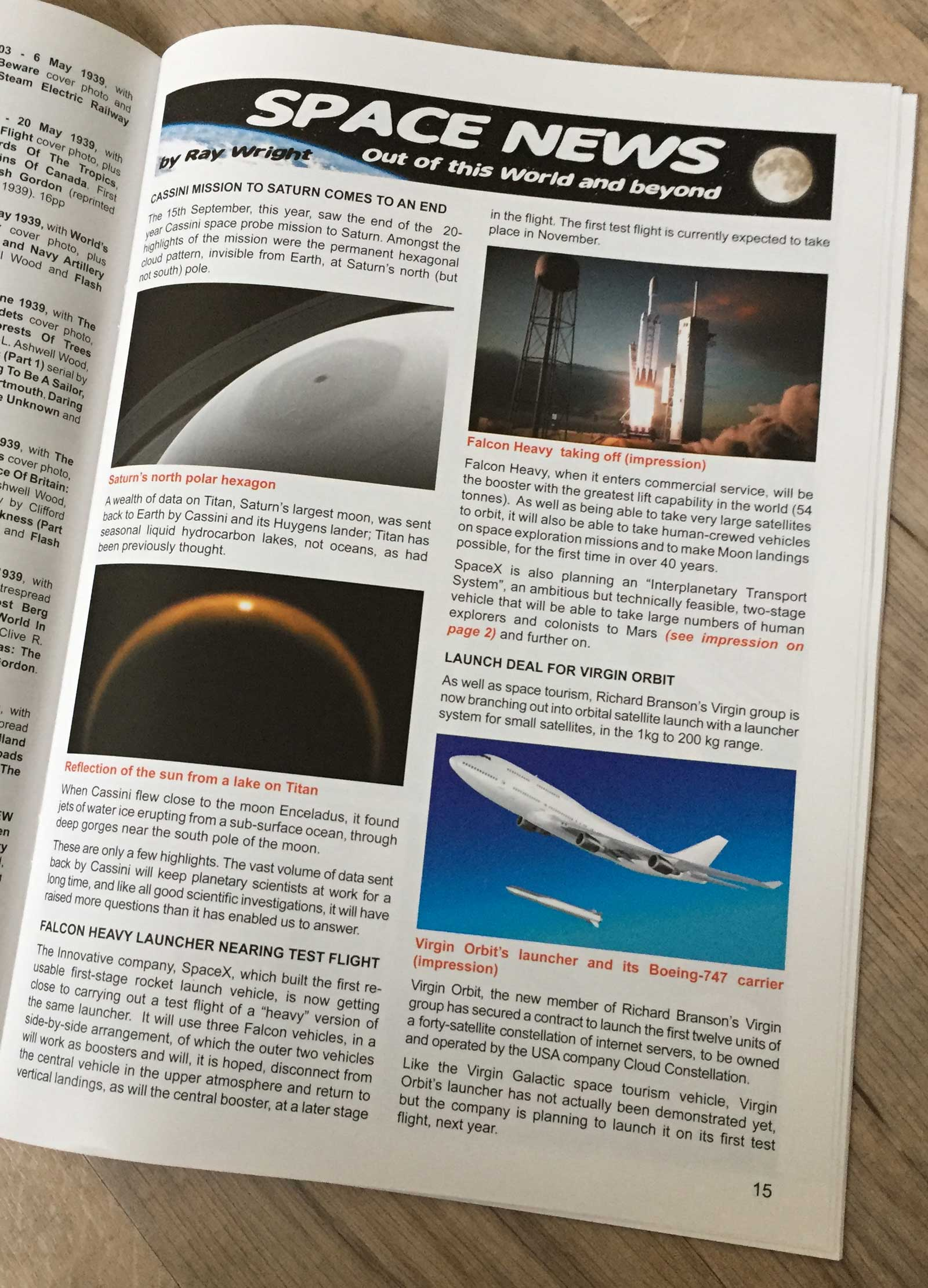 Spaceship Away 43 - Space News
