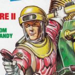 Zzap64 36 - Dan Dare Cover by Oliver Frey SNIP