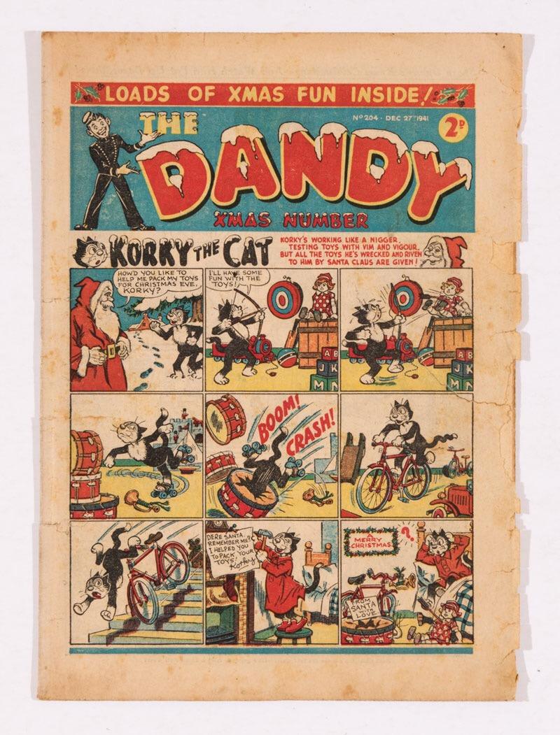 Dandy 204 (1941) Xmas Fun issue