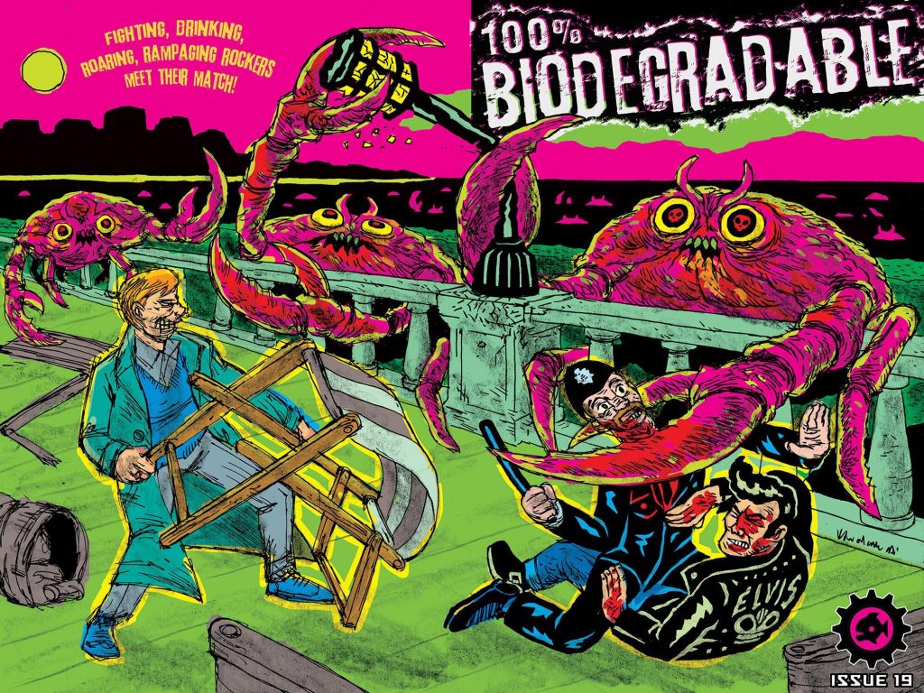 100% Biodegradable Issue 19 - Cover
