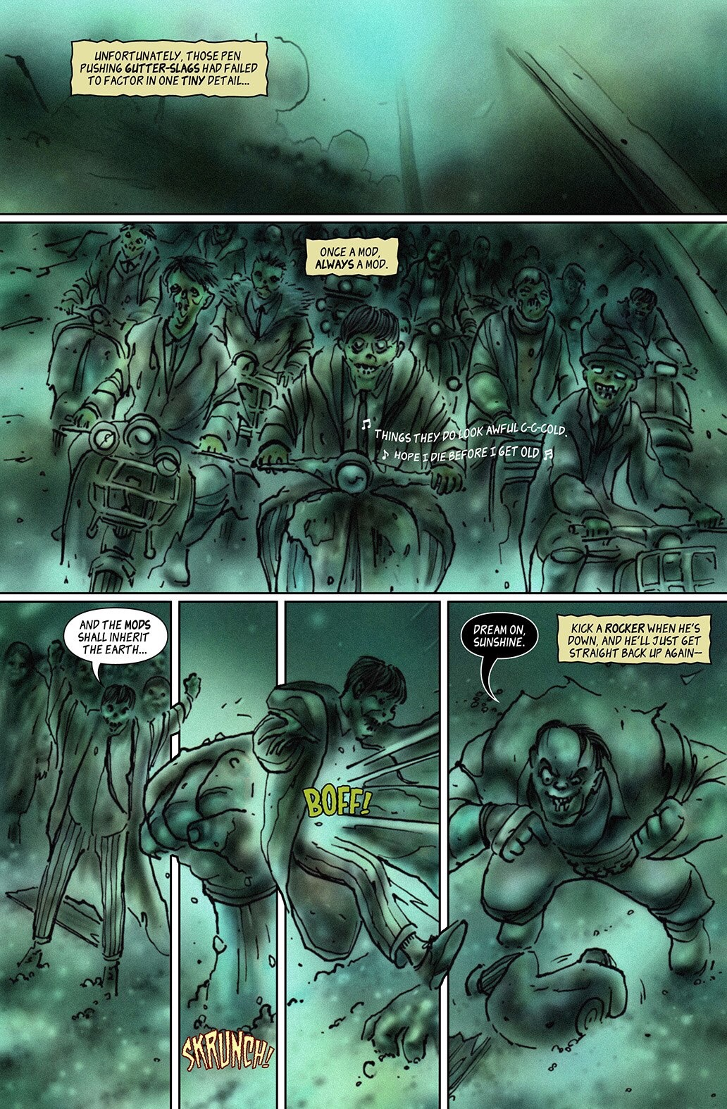 100% Biodegradable Issue 19 - Mods vs Mutants