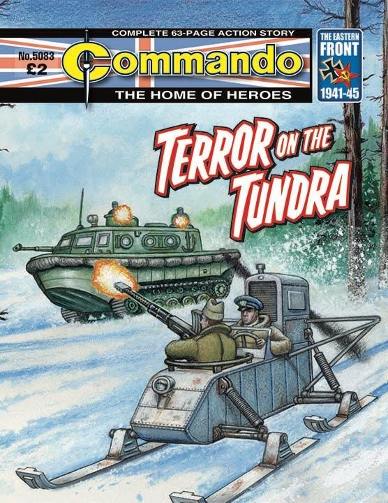 Commando 5083 Home of Heroes: Terror on the Tundra