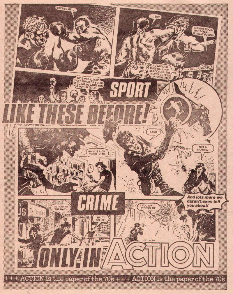 Action - Buster Promotional Insert