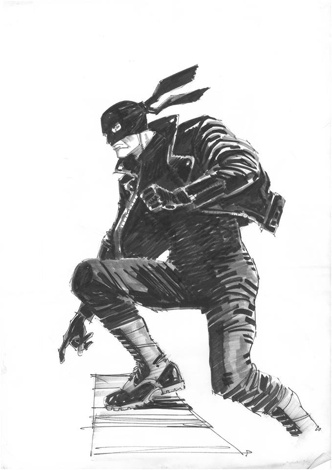 Black Mask by Jim Baikie