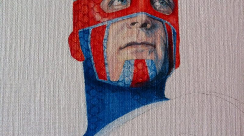 Captain Britain by Ciara McAvoy