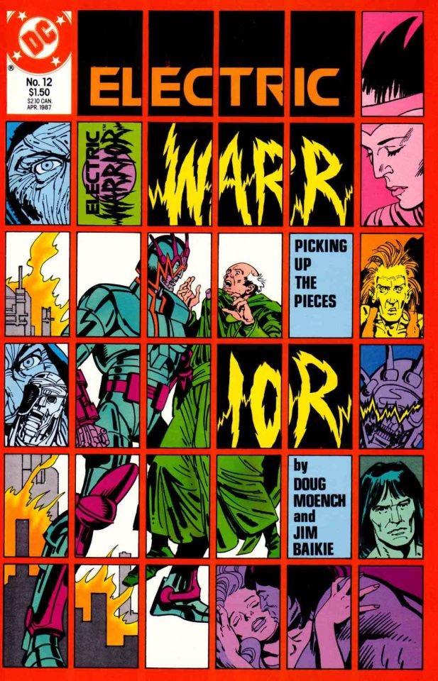 Jim Baikie - Electric Warrior #12 - Cover