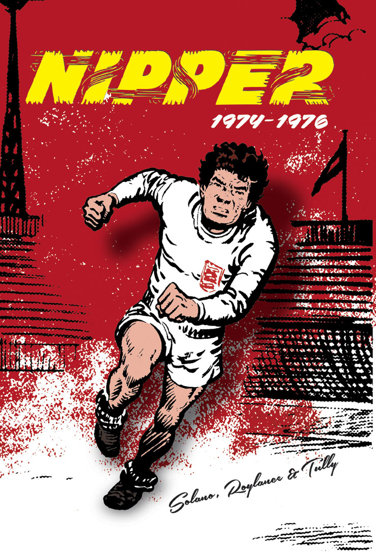 Nipper Volume Three 1974 - 1976 - Cover