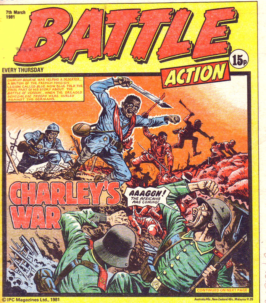 Battle: 17th March 1981 Cover Date
