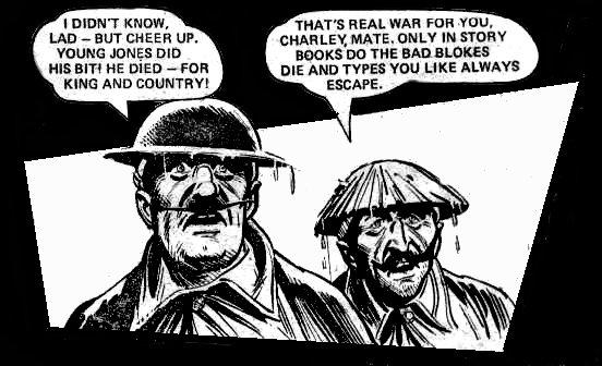 Charley's War: Sergeant 'Ole Bill' Tozer
