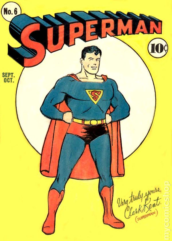 Superman #6 - 1939 Series