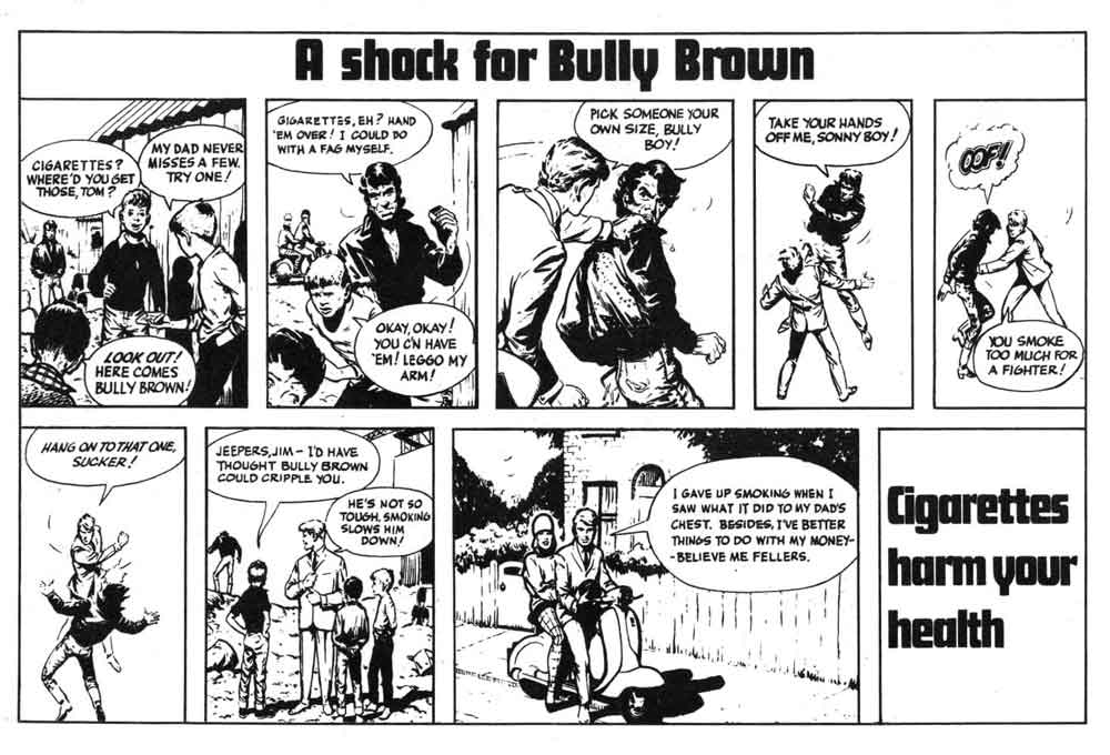 Anti Smoking Ad: A Shock for Bully Brown