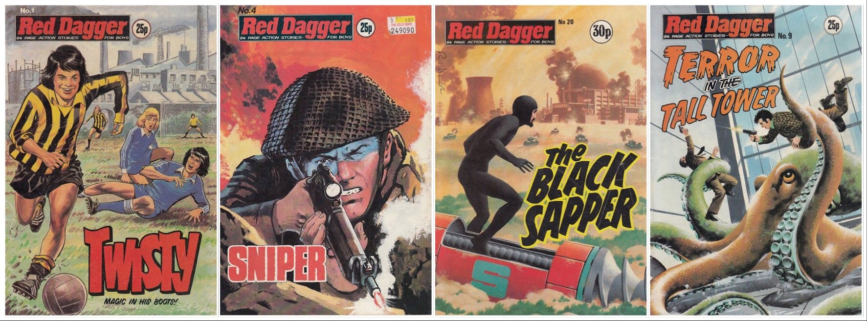 Red Dagger Cover Montage