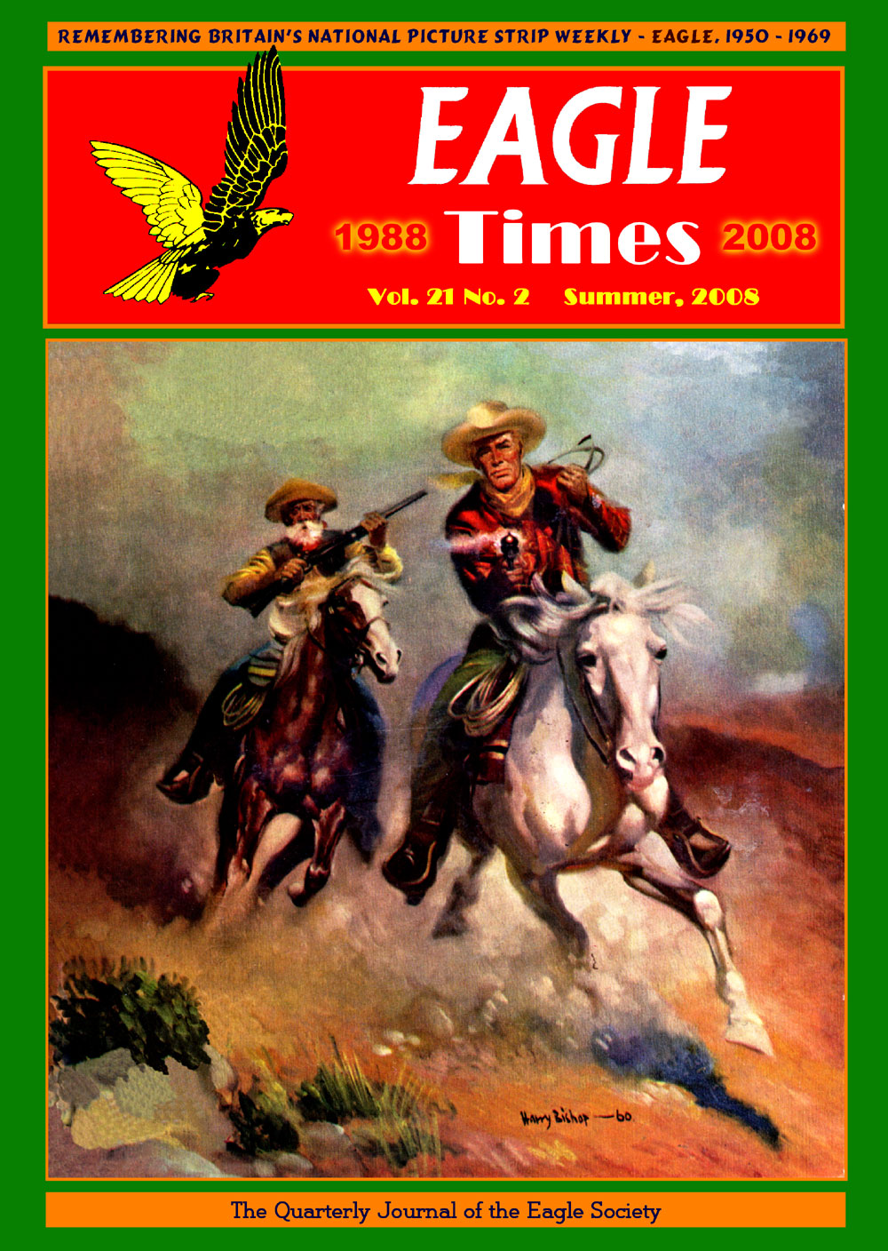 Eagle Times Volume 21 Issue 2 - Summer 2008