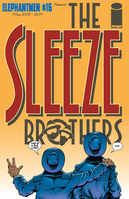 The Sleeze Brothers - Image Edition Cover