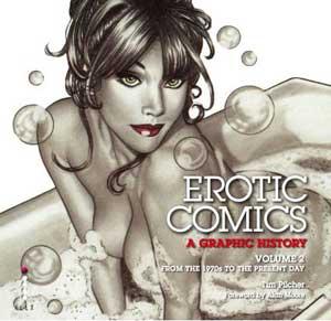 Erotic Comics Volume 2 - Cover