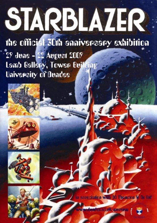 Starblazer Exhibition Poster