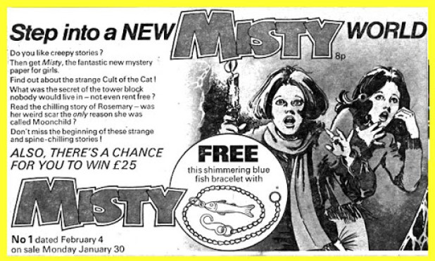 Misty Issue One - Promotional Ad