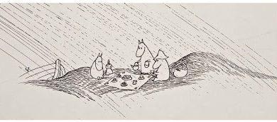 The Moomins © Tove Jansson