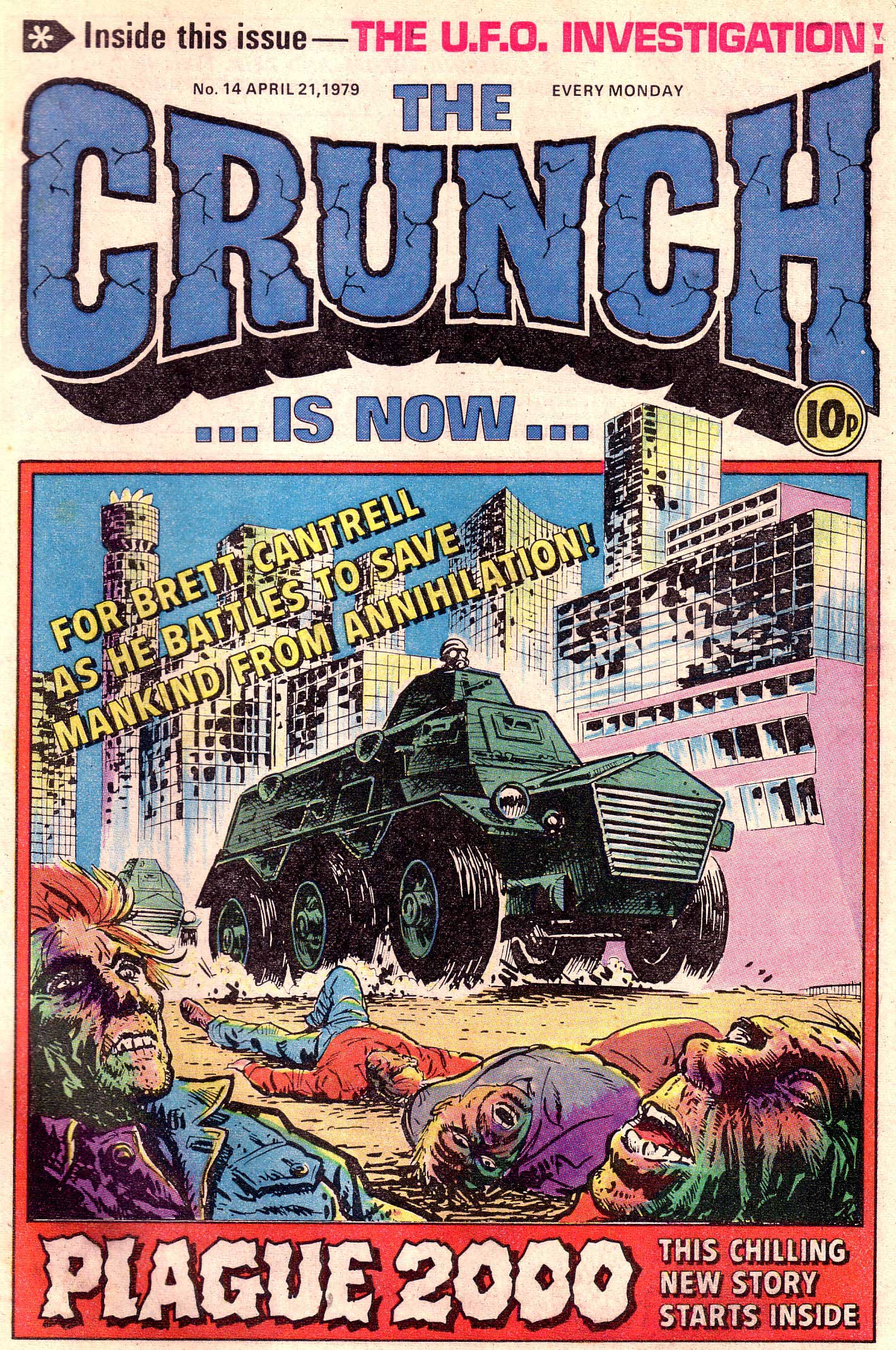 Issue 14 of DC Thomson's The Crunch - published in April 1979.