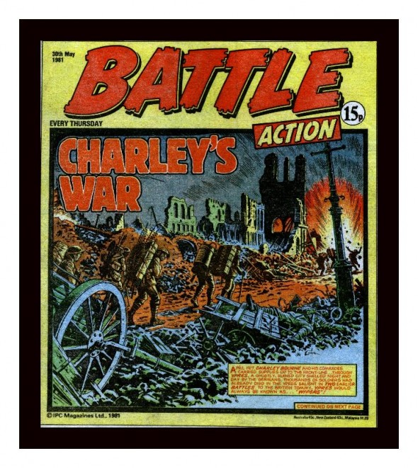 Battle Action 'Charley's War' cover