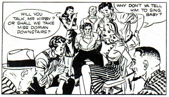 Rip Kirby by Alex Raymond