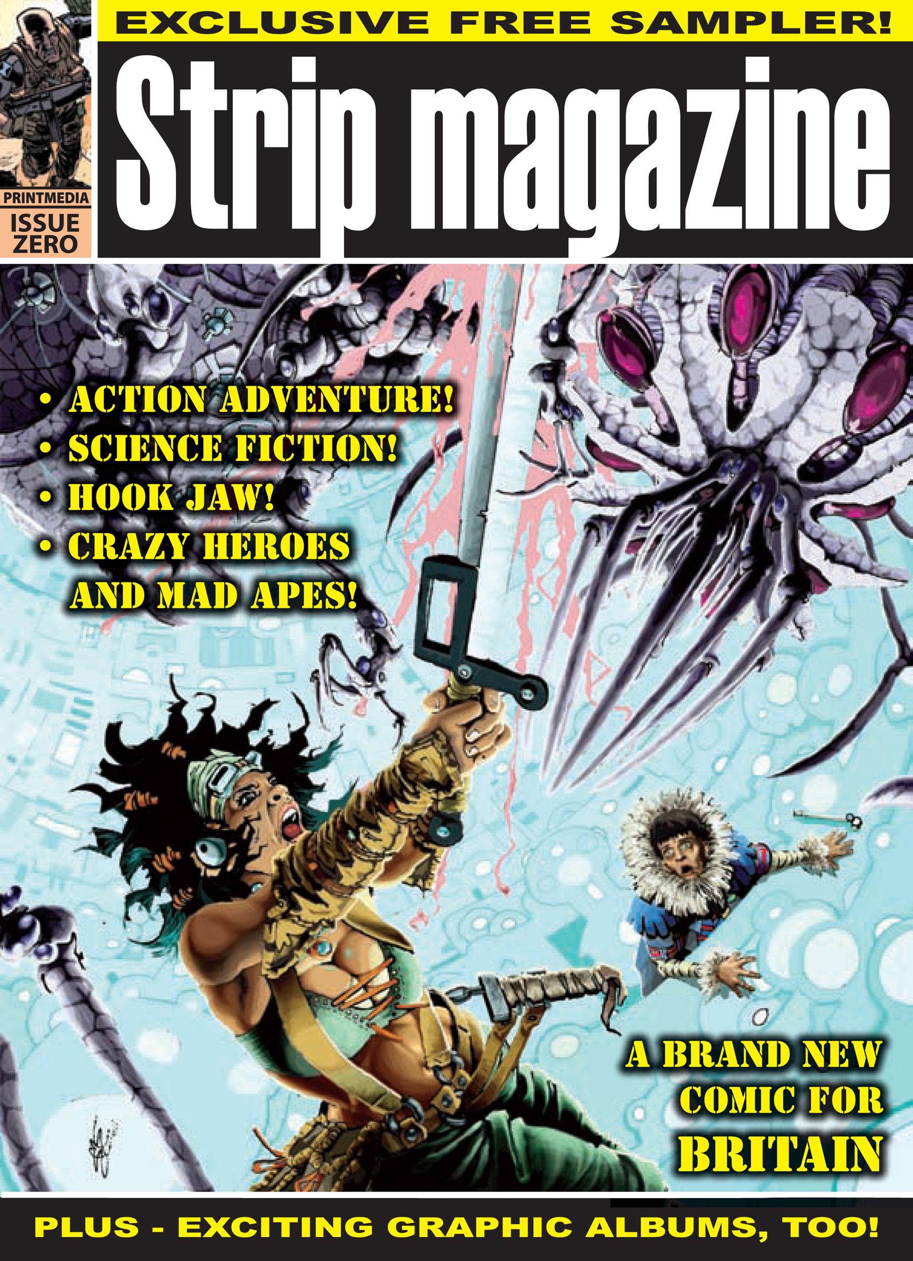 STRIP Magazine #0 - Cover