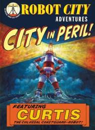 City in Peril Poster