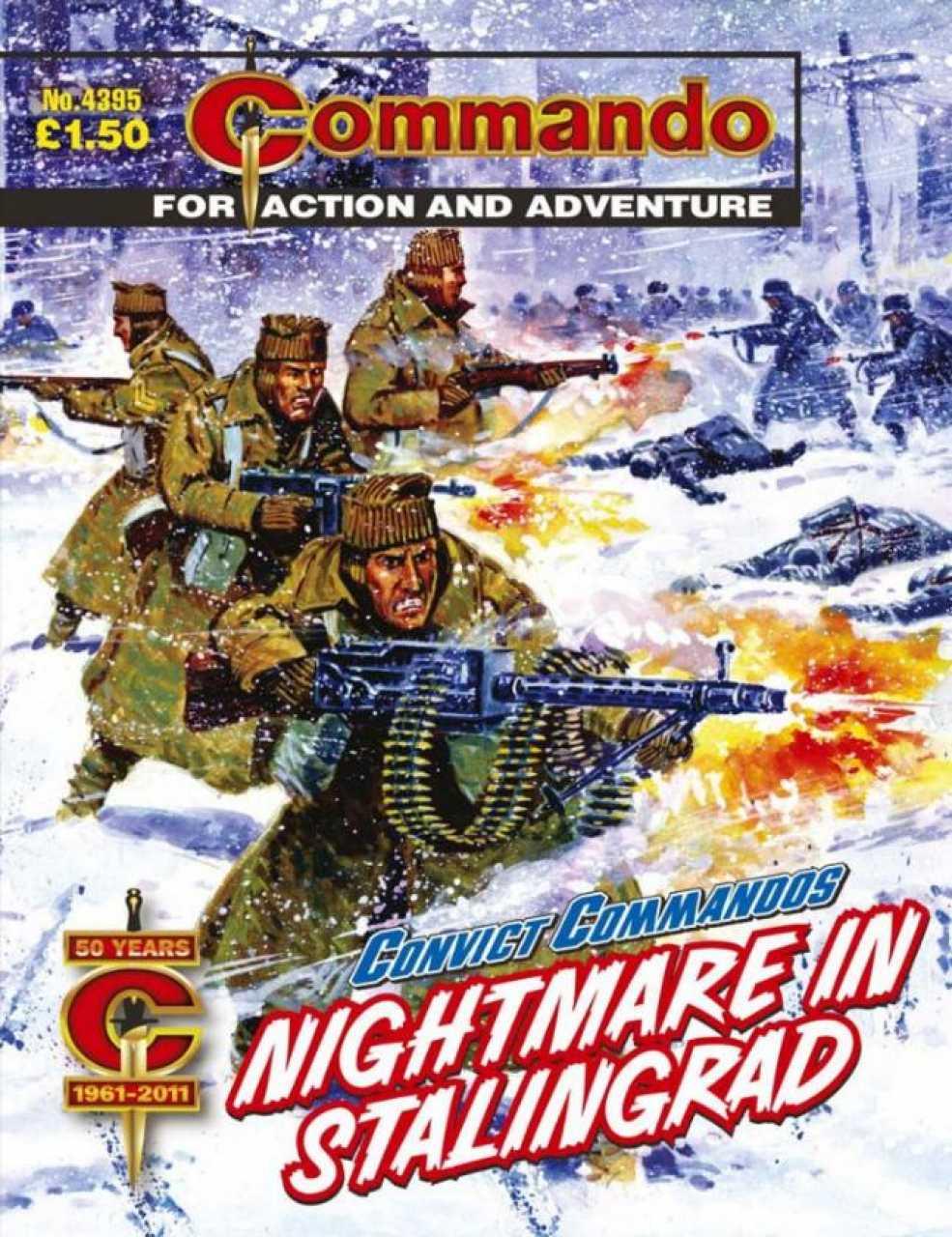 Commando No 4395: Nightmare In Stalingrad